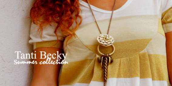tanti becky - gold