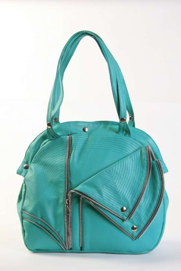 new! mint biker bag