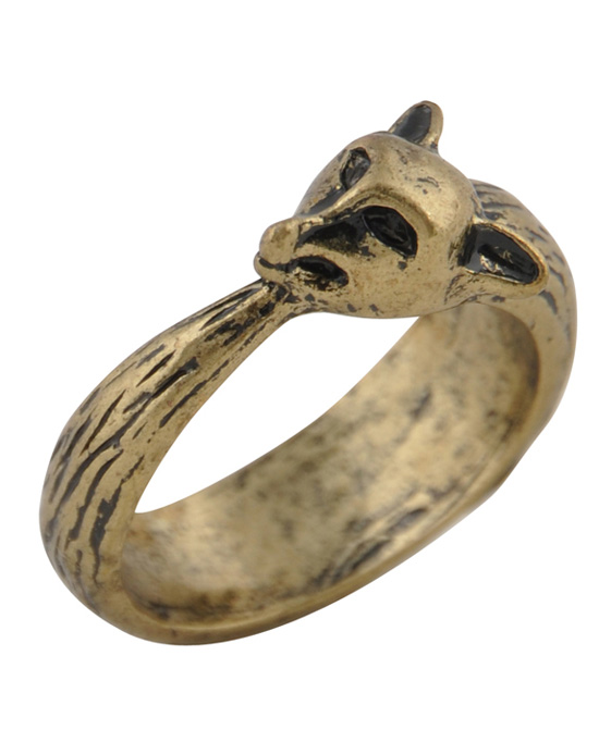 Vintage Panther Head Ring