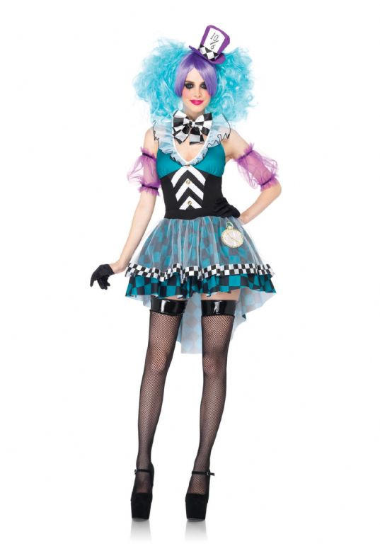 MANIC MAD HATTER ADULT COSTUME