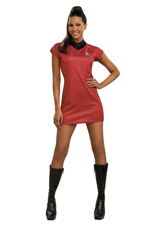 STAR TREK MOVIE DELUXE UHURA COSTUME