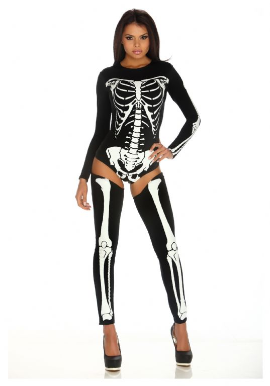 WOMEN'S BAD TO THE BONE COSTUME