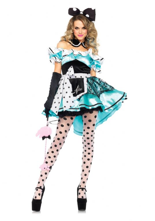 ADULT DELIGHTFUL ALICE COSTUME