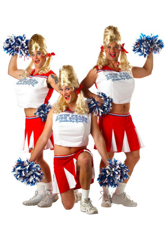 תחפושות MENS CHEERLEADER