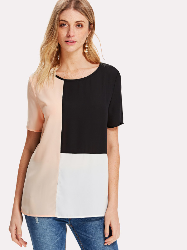 SHEIN Cut And Sew Top
